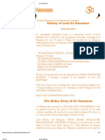 Lord Hanuman birth and marriage