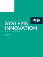 Systems Innovation Discussion Paper
