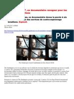 """""""The Gatekeepers"""", un documentaire ravageur pour les dirigeants israéliens"""