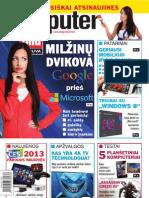 """2/2013 """"Computer Bild Lietuva"""" – Milžinų dvikova"""