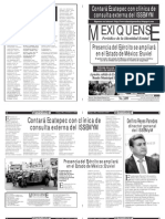 Versión impresa del periódico El mexiquense 24 enero 2013