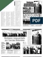 Versión impresa del periódico El mexiquense 23 enero 2013