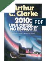 2010 Uma Odisséia no Espaço II  Arthur C. Clarke
