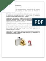 Investigacion de Portafolio