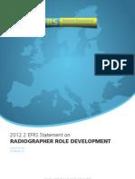 EFRS Statement - Radiographer role development.pdf