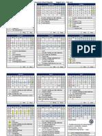 PAS Calendar