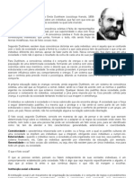 Durkheim e Marx