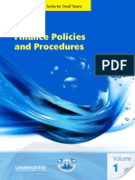 Finance Policies and Procedures