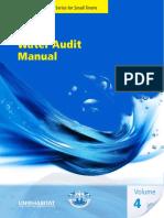 Water Audit Manual