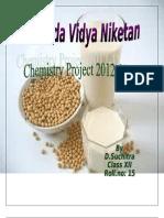 preparation of soyabean milk