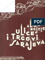 Ulice i trgovi Sarajeva