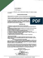 Convocatoria de Pleno y Explicaciones Desde El PSOE