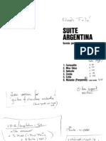 106249106 Partituras Eduardo Falu Suite Argentina Solo Guitar