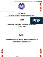 VISI & MISI KPM A4 SIZE (2013)