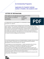 motivation document for master degree Document read online sample motivation letter for masters degree in engineering this pdf file has sample motivation letter for masters degree in engineering, to enable you to download this.