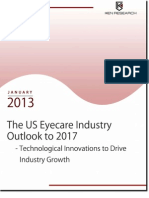 The US Eyecare Industry Outlook to 2017 - Lenses Segment Continues to Maintain its Dominance