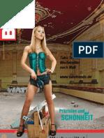 Maßband Bandmaß Zollstock Werkzeuge Werbemittel Katalog 2013
