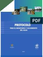 Protocolo Monitoreo y Seguimiento Del Agua