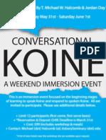 Conversational Koine