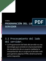 Programación del lado del servidor
