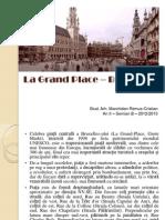 La Grand Place – Bruxelles