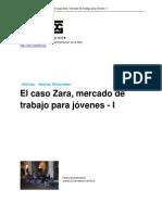 El Caso Zara Mercado de Trabajo (Itziar Agulló Fernández) RESUMEN