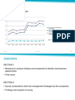ANALYSIS & SURVEY OF COMPANIES IN FOUR HIGH GROWTH INDUSTRY SEGMENTS TO IDENTIFY NEW BUSINESS OPPORTUNITIES FOR INSURANCE BROKERS.