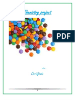 Investigatory Project on Dyes used in Candy