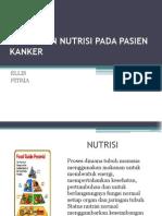 dukungan nutrisi pada pasien kanker