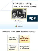 Project Decision-making