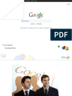 Leadership of Google larry page and sergey brin