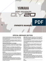 QY20 USERS MANUAL
