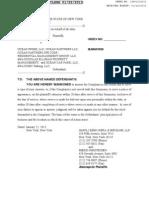 Sandy Lawsuit From 1 West