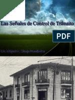 4. Las Señales de Control del Tránsito
