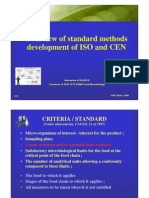 Leclercq (Overview of standard methods development of ISO and CEN)