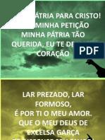 MINHA PÁTRIA PARA CRISTO