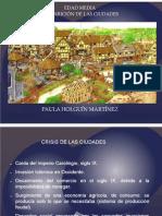 Unidad 7 Resurgimiento de las ciudades - Paola Holguín Martínez