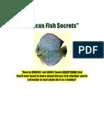 Discus Fish Secrets