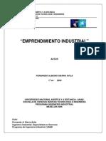 Sierra Avila Fernando Albeiro - Emprendimiento Industrial