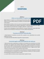 Diario Europeo. Numero speciale dedicato alla Carta dei diritti fondamentali dell'Unione Europea