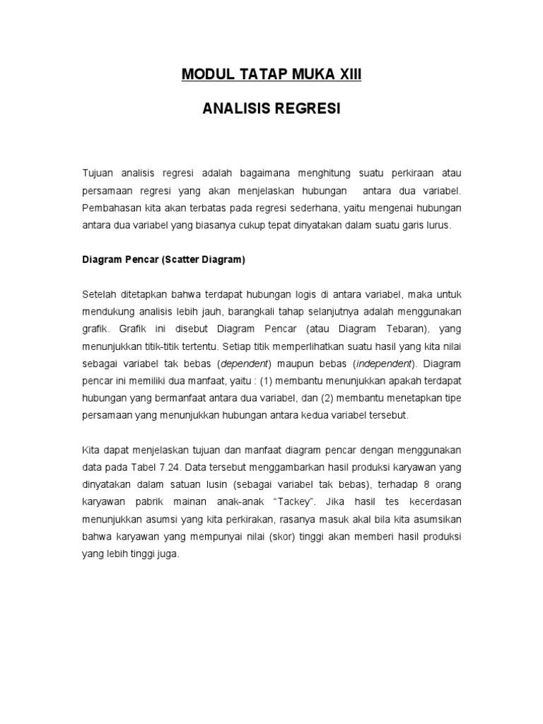 Analisa regresi ccuart Gallery