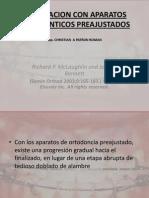 Finalizacion Con Aparatos Ortodonticos Preajustados