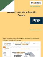 Función de grupos para Traditori.ppt