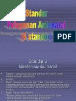 2.Standar Pelayanan Antenatal