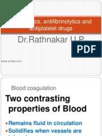 Thrombolytics & Antiplatelet drugs