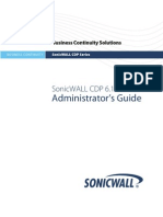 SonicWALL CDP 6.1 Admin Guide-1