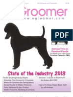 Pet Grooming eGroomer Journal for Professional Pet Groomers January/March 2013