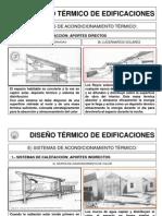 DISEÑO TÉRMICO DE EDIFICACIONES-sistemas solares
