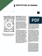Alberto Perez Gomez - Architecture as drawing