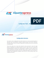 iQuoteXpress - Configuration tools...made to order